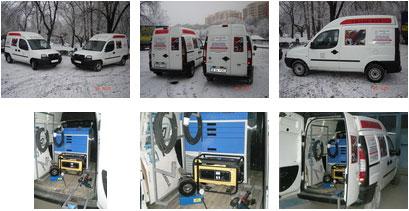 Atelier mobil sertizare furtunuri